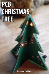 1 Pcb Christmas Tree Christmas Decorations In 2020 Christmas Tree Christmas Decorations Electronics