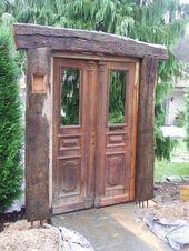 Garten gestaltung, fachwerk bau, recycled holz garten im landhausstil von chippie landhaus   homify