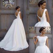 """""""Hochzeitskleid von Milla NOVA 2016 Modell – Colett White #colett #hochzeitsklei…"""