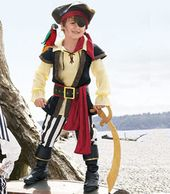 Pirate  chasing-fireflies…