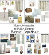 Home Accessories to Pull A Neutral Room Together – The Honeycomb Home