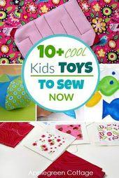 kids toys to sew – 10 fun DIY kids toys sewing tut…