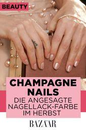 Champagne Nails: Diese Nagellacke sind jetzt Trend