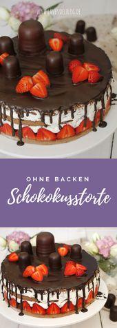Chocolate cake: The perfect birthday cake recipe  – Kochen