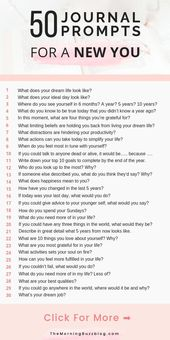50 Journal-Eingabeaufforderungen zur Selbsterkennung