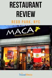 MACA Peruvian Restaurant Evaluate:  A Scrumptious Birthday Celebration