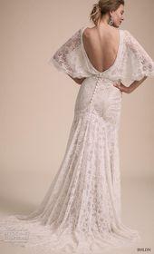 Enkel stil med BHLDNs egna brudklänningskollektion   Bröllopsinspirasi