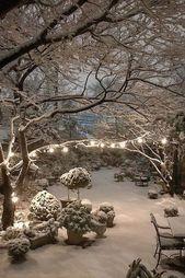 winter weihnachten #weihnachten #2020 This cozy nook, lit like a scene from a fa…