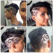 Extreme Schnitte und Haartätowierungen!