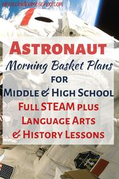 Astronaut Unit Study für Homeschool-Familien   – Homeschool Activities
