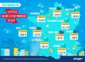 Le Top 10 Des Villes Ou Le Prix De L Immobilier A Flambe En 2019 Immobilier Cherbourg Colmar