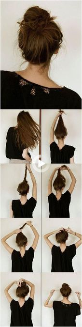 15 Simple Hairstyle Tutorials for All Occasions, #All #Simple #Hairstyle #Hairstyle Ideas …
