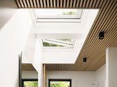 VELUX Flachdachfenster, Flachdachfenster, konvexes Glas   – Anbau