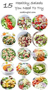 15 Salads You Need To Try – A collection of some of CookingLSL's salad recip…