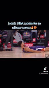 Video Iconic Nba Moments As Album Covers Challenge Trend Di 2021 Sampul Album Musik Sampul Album Gambar Bola Basket