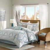 Madison Park Blue Comforter Sets & Curtains Sale