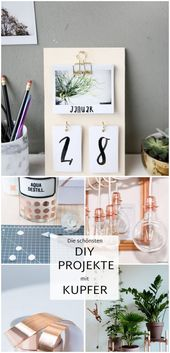 {DIY} Tischkalender mit hausgemachten Instax-Fotos   – Diy crafts projects