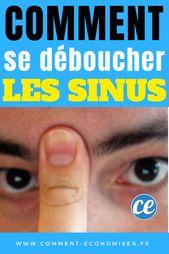 Déboucher Vos Sinus en 20 Secondes Avec Votre Langue et Votre Doigt. 1
