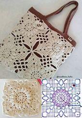 DIY: Inspirieren Sie sich in diesen schönen 21 Häkeltaschen