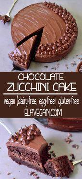 357cc8b2cfe0864487eff70772c22a44 Delicious Chocolate Zucchini Birthday Cake