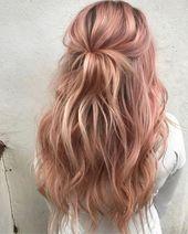49 Noble Ideen für Haarfarben, die Sie 2019 ausprobieren sollten   – Hairstyles