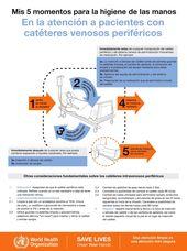 Higiene De Las Manos En La Atención A Pacientes Con Catéteres Venosos Periféricos Medical Mnemonics Mnemonics Medicine