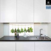 Küchenrückwand aus Glas mit Motiv \