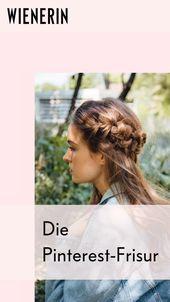 """Hast du auch schon mal nach dem """"Pinterest-Zopf"""" gesucht? Die Flechtfrisur ist e… – Beauty"""