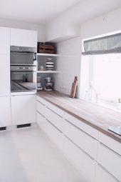 60 decorated white kitchens – nice photos