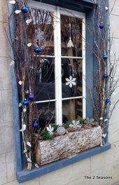 Die 30 faszinierendsten Weihnachtsfenster für die Dekoration –