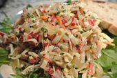 Diesen Salat gibt es bei uns häufig als kleines Abendessen. Er ist eine schöne… – Kochrezepte