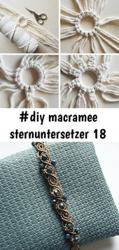 #diy macramee sternuntersetzer 18