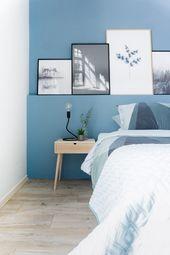 De urban Scandinavische woonstijl van Laura Laura (23) en Stefan (28) Hindriks w… – Dormitorio