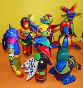 Unterrichtsbeispiel für den Kunstunterricht in der Grundschule zu dem Künstler…