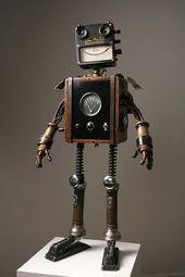 Robot Art | The Awesomer | Awesome Stuff – #Art #A…