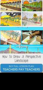 How To Draw A Perspective Landscape – Pinokyo