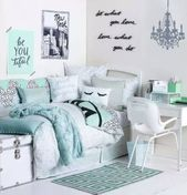 43 Trendy Bedroom Grey Turquoise Teal  – House Ideas – Bedroom