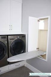37 Erstaunlich clevere Möglichkeiten, Ihre Waschküche zu organisieren