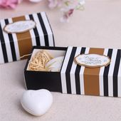 White Love Heart Soap Wedding Favors $ 2.86 and FREE Shipping  Tag a friend who …