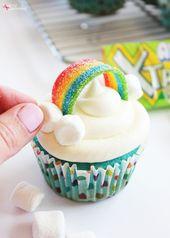 Regenbogencupcakes – Baking ideas – decoration & …