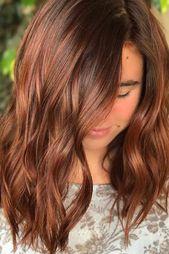 30 choices de couleurs et types élégants et chics pour de superbes cheveux au…