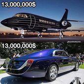 DEBAT! Privatjet oder Rolls Royce KOMMENTIEREN was und warum! • • • • • …   – pagani