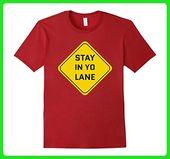 Herren Stay In YO Lane Lustiges Basketball Meme T-Shirt 2XL Cranberry – Sporthemden …   – Sports Shirts