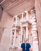 Visiting Ephesus in One Day: Exploring a Biblical City's Ruins #turkeytravel The…