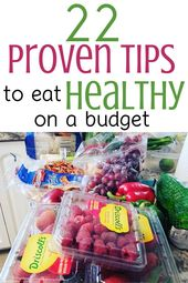 How to Save Money on Groceries While Eating Healthy