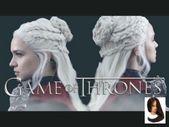 #Daenerys #HairstylesTutorial # for #Hairstyle tutorial #KayleyMelissa