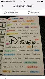 26 Enchanting Bullet Journal Disney Des idées et des idées pour stimuler votre creativeness