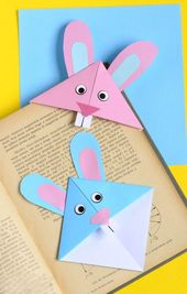 Lesezeichen basteln – 33 kreative Ideen, wie man Lesezeichen selber machen kann