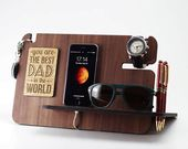 Personalized gift men, birthday gift for men, birthday gift, gift for him, gifts for men, gift for husband, gift for dad, docking station, iphone