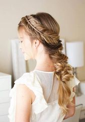 Hairstyle photo   Party hairstyles for long straight hair Nice simple Hairsty … – Hairstyle ideas – #simple #Photo #Hairstyle #Hairstyles # for